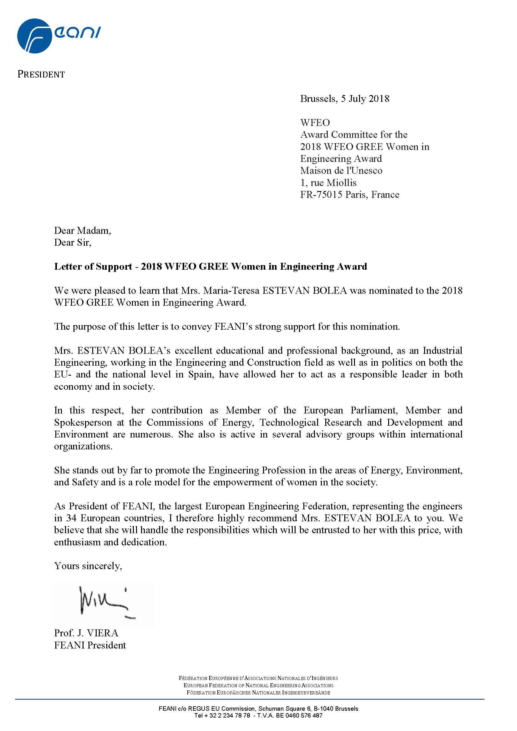 17-Letter of Support President FEANI Estevan Bolea for GREE Women in Engineering Award.jpg